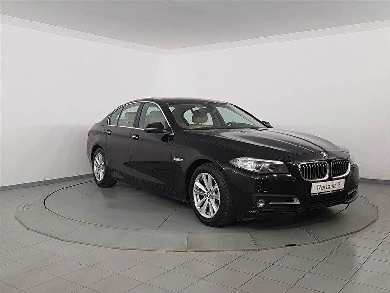 2014 Benzin Otomatik BMW 5 Serisi Siyah GÜNERLER