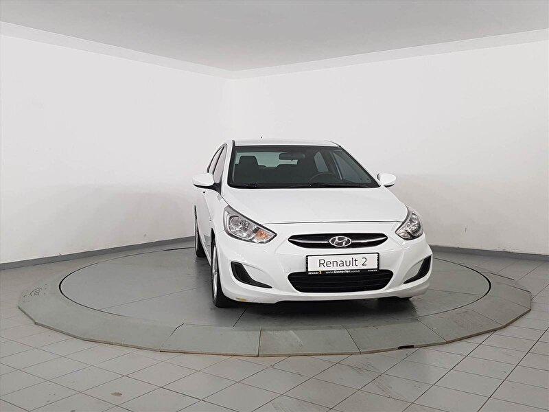 2017 Dizel Otomatik Hyundai Accent Blue Beyaz GÜNERLER