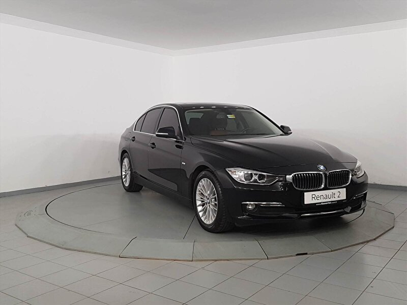 2014 Benzin Otomatik BMW 3 Serisi Siyah GÜNERLER