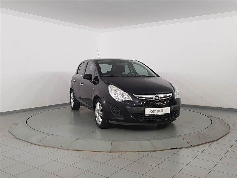 2012 Dizel Manuel Opel Corsa Siyah GÜNERLER