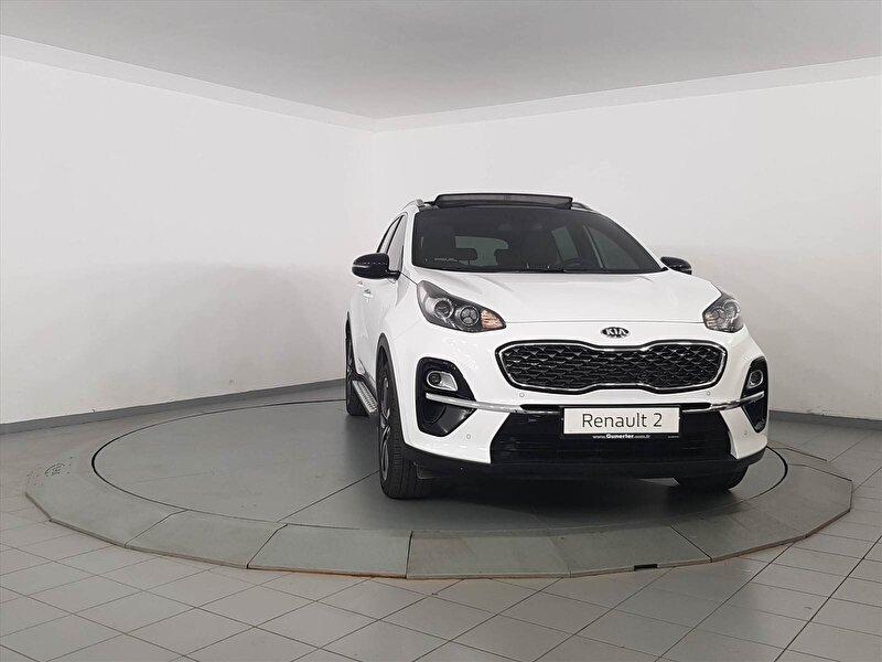 2019 Dizel Otomatik Kia Sportage Beyaz GÜNERLER